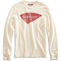 Lucky Brand Budweiser King Of Beers Mens - Marshmellow