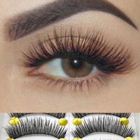 Long Thick Cross 10 Pairs Makeup Beauty False Eyelashes Eye Lashes Extension [9515726020]