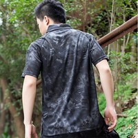 Hiking Shirt Combat Summer Coolmax Breathable Fabric Polo For Men, Men's Brand Tactical Army SAWT Quick Dry Polo Shirt KO_15_1