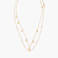 Layered Flower Bud Necklace : shopmadewell necklaces   Madewell