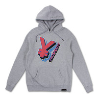 Yen Hoodie in Heather Gray – Pink+Dolphin