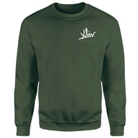 How Ridiculous XLIV Script Pocket Sweatshirt - Forest Green | IWOOT
