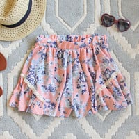 Canyon Flower Shorts