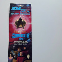 Vintage Star Trek Communicator Pin 1993