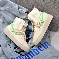 Nike Air Force 1 af1 men's and women's basketball shoes sneakers Beige