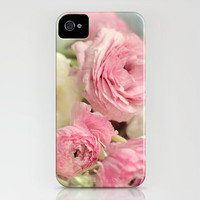 ranunculus love iPhone Case by Sylvia Cook Photography | Society6