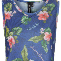 Floral Crop Vest By Escapology - Jersey Tops - Clothing - Topshop USA
