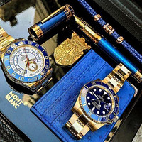 Rolex Ladies Men Watch Little Ltaly Stylish Watch F-PS-XSDZBSH Blue  For Black Friday