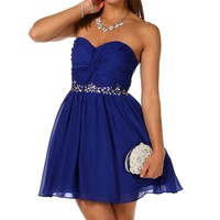 Amber-royal Prom Dress