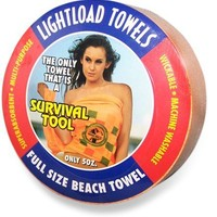 "Lightload Towels Beach Towel - 60"" x 36"""