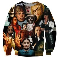 Women/Men Spring Crewneck Cinema Murders Sweatshirt 3D Print Hoodies Horror Movie Kill Harajuku Pullover Unisex Oversize Outfits