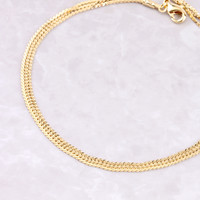 Triple Layered Anklet