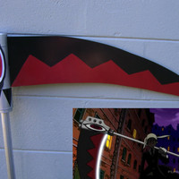 Maka's Scythe Soul Eater just under 6 ft tall (cosplay) Cut Version