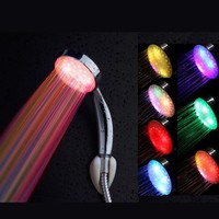 Bestselling Shower head Shower Handheld Bathroom 8 Light LED
