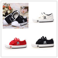 Kids Shoes Baby Boy Girls Fashion Soft Classic Convenient Velcro Infant Toddler Sneaker Children Boy Breathable Running Leisure Canvas Shoes