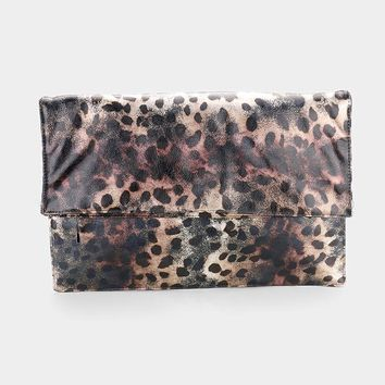 Foldover Clutch Bag (Click For More Colors)