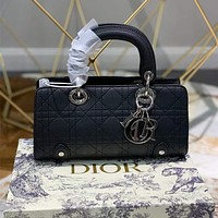 DIOR Leather Handbags Tote bag