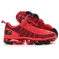 NIKE AIR VAPORMAX Fashion Women Men Casual Sport Running Shoes Sneakers Red