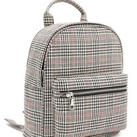 Glen Plaid Backpack