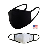 3 Packs Unisex Reusable Washable Mouth Cotton Face Masks for Adults Kids - Travel Outdoor Fashion