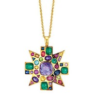 Verdura   Products   BROOCHES   Byzantine Pendant Brooch