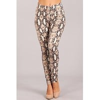 Snake Print Leggings  ONLY 1 S LEFT