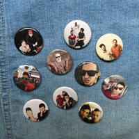 Twenty One Pilots 1.25 Inch Pinback Buttons