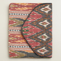 Red Ikat Clutch - World Market