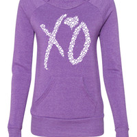 Xo the weeknd ladies sweatshirt