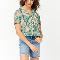 Banana Leaf Print Shirt