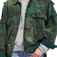 Free People Slouchy Military Jacket | Nordstrom
