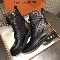Louis Vuitton LV Fashion Women's Boots