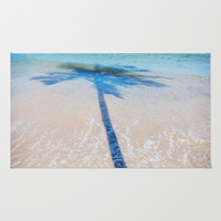 TREE IN SEA Area & Throw Rug by Catspaws   Society6