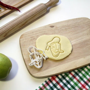 Donald Duck Cookie Cutter Disney Cookie Cutter Cupcake topper Fondant Gingerbread Cutters - Made from Eco Friendly Material