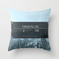 Skyrim Anything Throw Pillow by Danyul