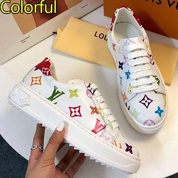 LOUIS VUITTON LV 21ss latest sneakers Shoes