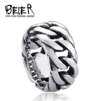 Men's Link Chain Stainless Ring