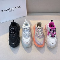 Balenciaga TRIPLE S CLEAR SOLE SNEAKER
