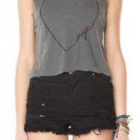 Brandy ♥ Melville |  Agathe NYC Love Tank - Clothing