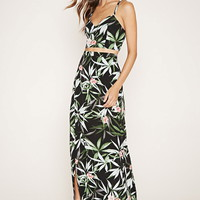 Tropical Floral Maxi Skirt | Forever 21 - 2000153599