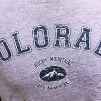 Vintage COLORADO T-Shirt Indie Hipster Holiday Tourist M