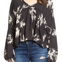 Amuse Society Hutton High/Low Blouse | Nordstrom