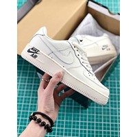 Nike Air Force 1 07 Leather Af1 White Sport Shoes