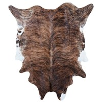 Brindle Cowhide Rug - Rugs - Home