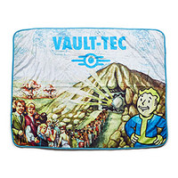 Fallout Vault-Tec Sublimated Sherpa Blanket - Exclusive