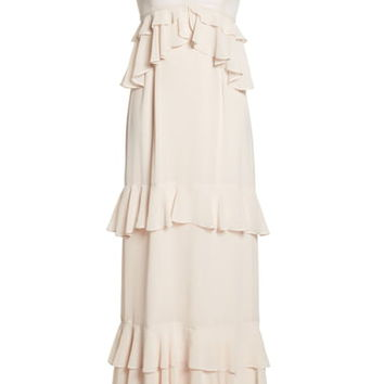 WAYF The Gywneth Ruffle Maxi Gown | Nordstrom