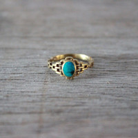 vintage brass ring