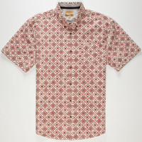 Free Nature Rick Mens Shirt Natural  In Sizes
