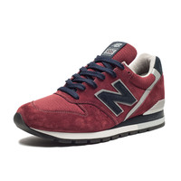 "NEW BALANCE 996 ""AMERICAN REBEL COLLECTION"" - BURGUNDY/NAVY 