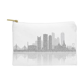 Restudio Designs Boston Skyline Reflection Pouch